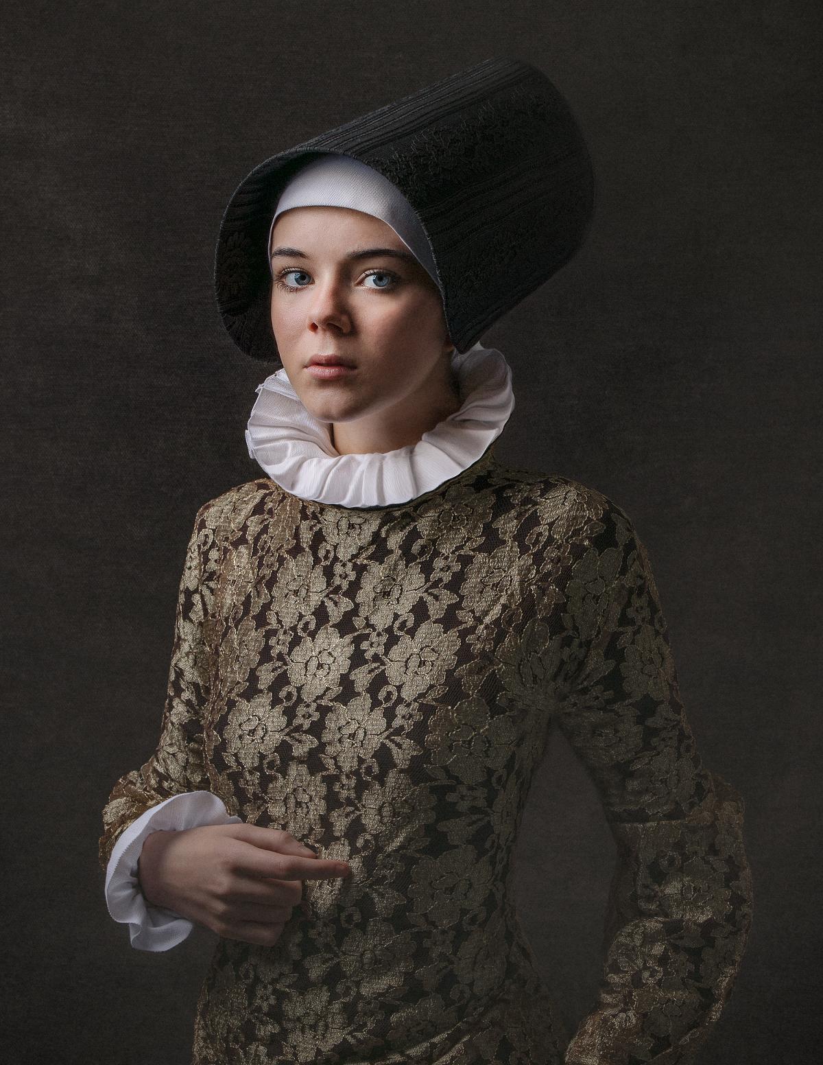 portrait créatif fine art adolescent Caroline Bouchez
