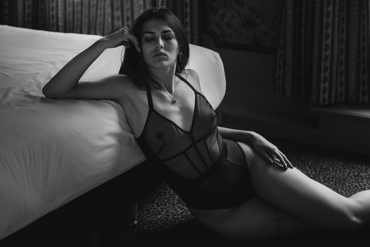 portrait lingerie sexy Vendée